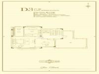 D3户型-三层-888㎡