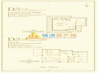 D3户型-阁楼和地下室-888㎡